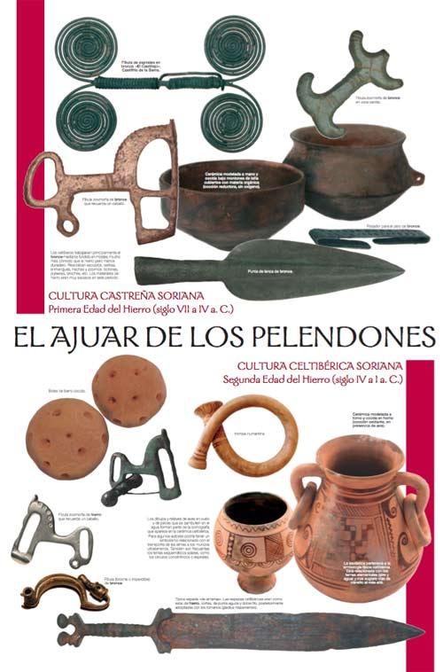 reproducciones arqueologicas hierro celtiberica pelendon Paleorama