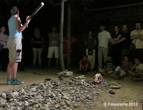 Paleorama. visita nocturna arqueologia
